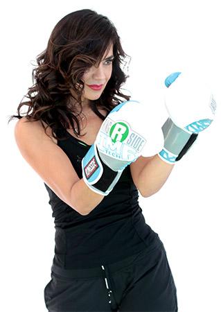 Esmeralda Gallemore boxing