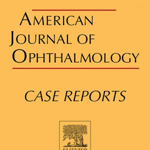 A case report co-authored by our founder has been recently been published in the American Journal of Ophthalmology Case Reports