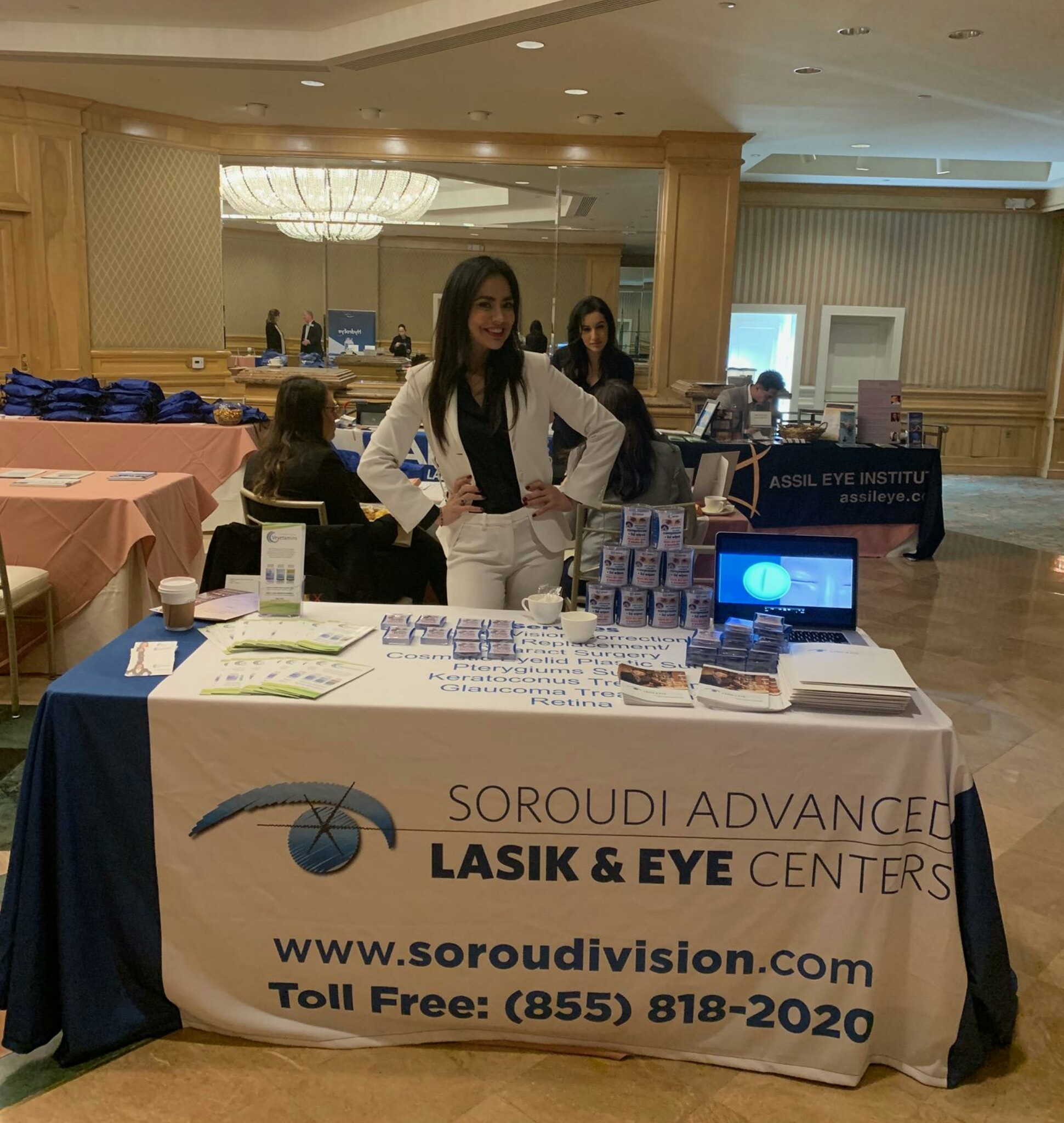 Esmeralda Gallemore at the Los Angeles County Optometry Society
